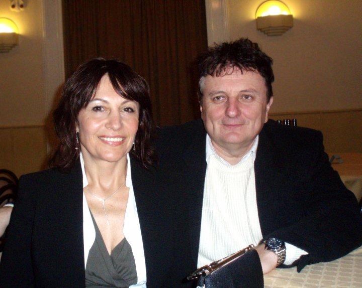 MUDr. Lubomír Kmoch a Ing. Marie Kmochová