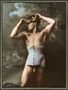 Jan Saudek prodej fotografie portrait of an old dancer starý tanečník