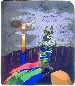 Josef Liesler Veselé objekty u ponurých skal