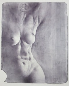 Oldřich Kulhánek litografie Helga