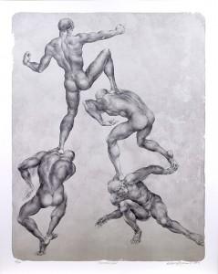 Oldřich Kulhánek prodej litografie Karierní řád