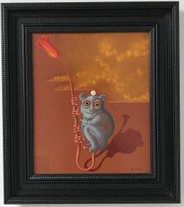 Lukáš Kándl prodej obrazu Malý modrý