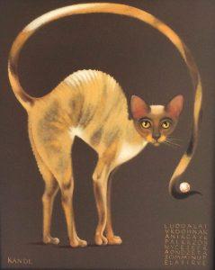 Lukáš Kándl prodej obrazu Vzácná perla v rovnováze 41_33cm