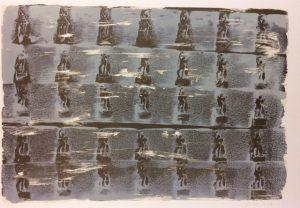 Jakub Špaňhel prodej litografie Baletky Degas 55_79cm