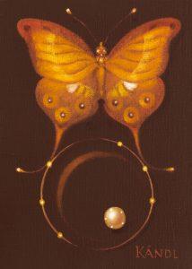 Lukáš Kándl prodej obrazu Papillon d'été_30cm