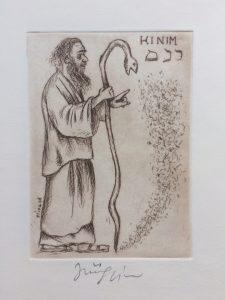 Jiří Slíva prodej obrazu Biblio Kinim 11_8cm