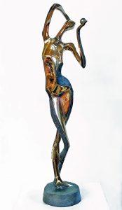 Peter Nižňanský prodej bronzové sochy evicka mala bronz 40cm