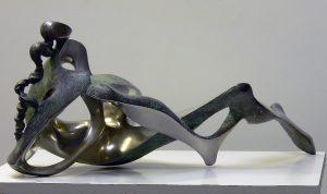 Peter Nižňanský prodej sochy vltava cín 60 cm web