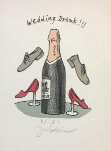 Jiří Slíva prodej obrazu Wedding Drink 20-15cm