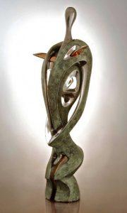 Peter Nižňanský prodej bronzové plastiky Africká Venuše 67