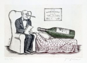 Jiří Slíva prodej grafiky Vinoanalysis-18-5-27-5cm