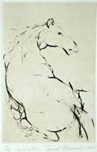 Tomáš Hřivnáč prodej grafik Bílý kůň 2015