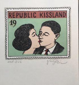 Jiří Slíva prodej grafik Republic Kissland