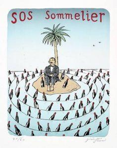 Jiří Slíva prodej grafik SOS Sommelier