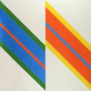 Josef Hampl prodej obrazů Bez názvu V 1973